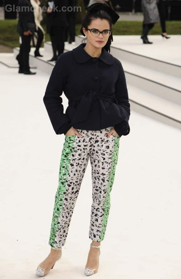Bip Ling at Burberry Prorsum Fall-Winter 2012 Show