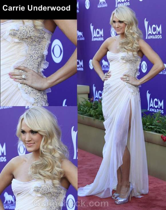 Carrie Underwood country music awards 2012