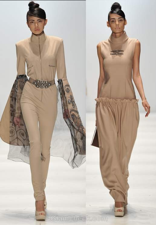 Color trends fall-winter 2012 beige-nude color trend Basharatian