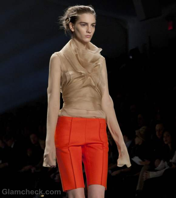 Color trends fall-winter 2012 beige-nude color trend Vera Wang