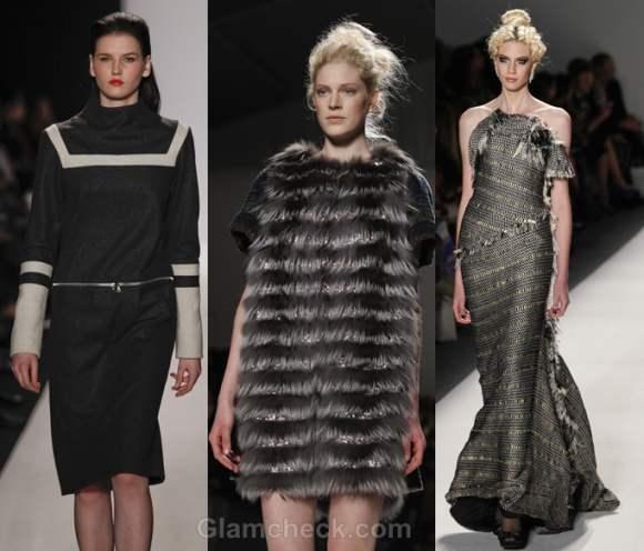 Color trends fall-winter 2012 black-gray