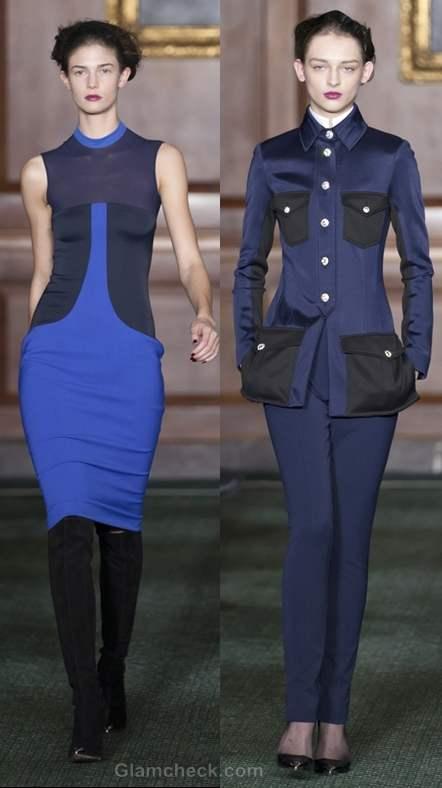 Color trends fall-winter 2012 blue Bill Blass
