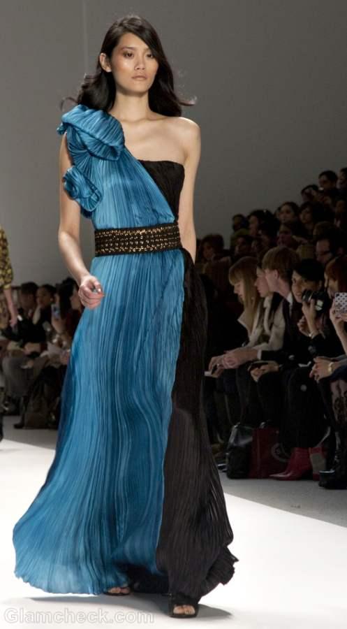 Color trends fall-winter 2012 blue Carlos Miele