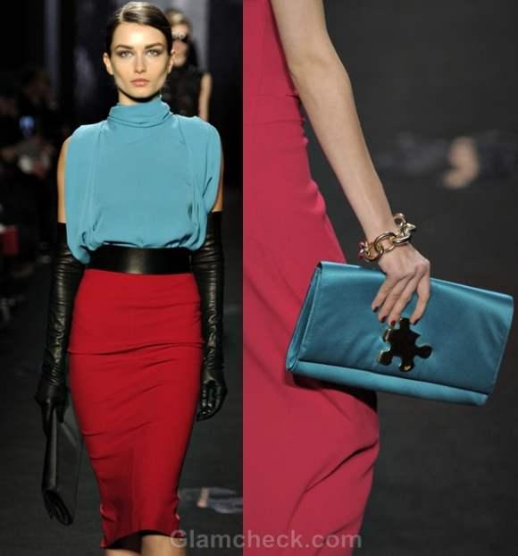 Color trends fall-winter 2012 blue Diane Von Furstenberg