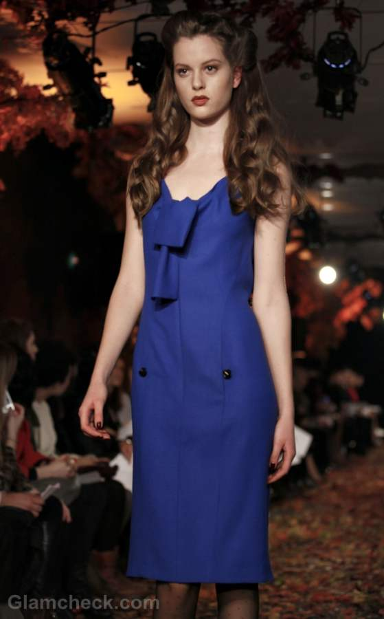 Color trends fall-winter 2012 blue Douglas Hannant