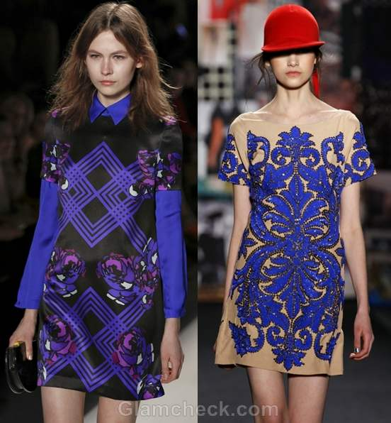 Color trends fall-winter 2012 blue Honor