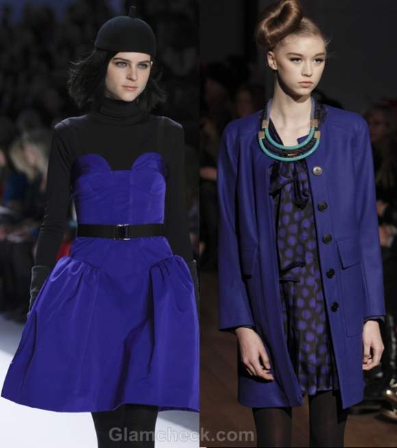 Color trends fall-winter 2012 blue Whit