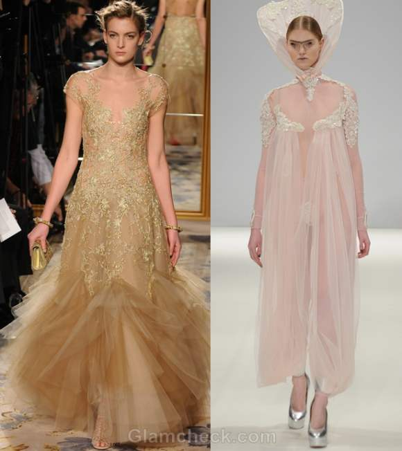 Color trends fall-winter 2012 nude color trend Pam Hogg