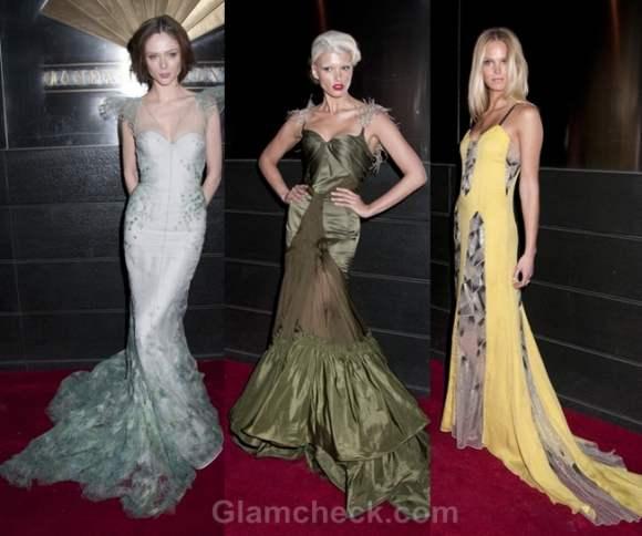 Floor-Sweeping gowns models style quotient