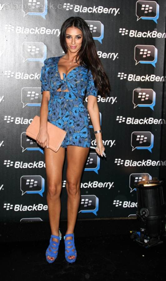 Georgia Salpa colorful spring shoes at blackberry party