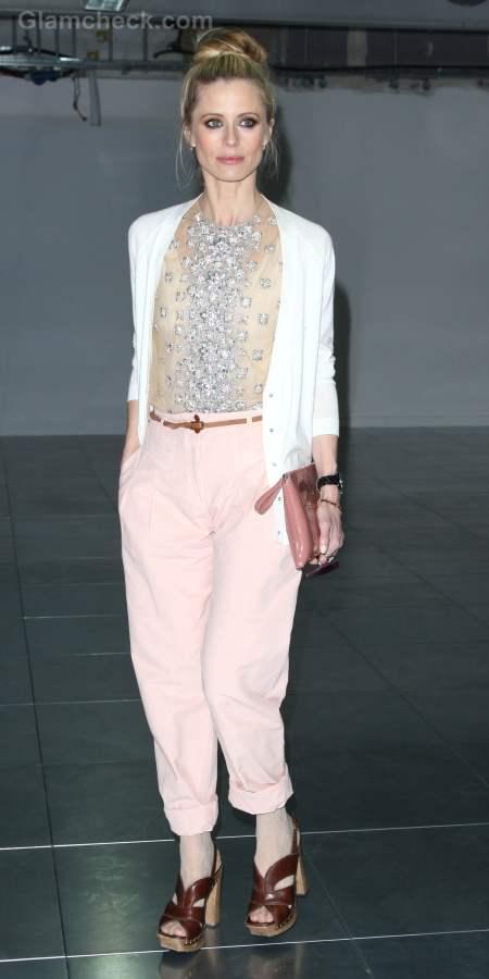 Laura Bailey  Fall-Winter 2012 London Fashion Week