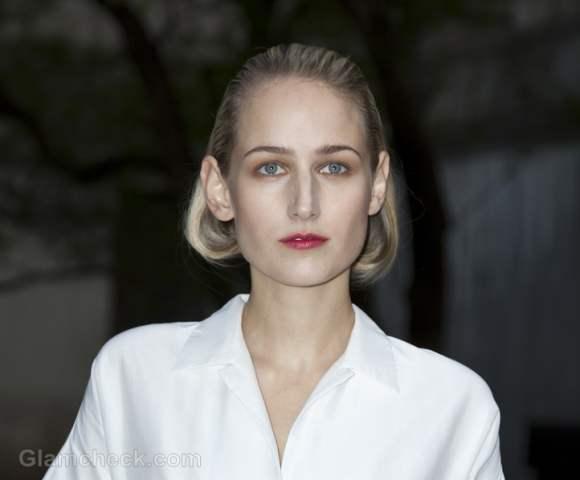 Leelee Sobieski Elegant in White at 2012 Tribeca Film Festival