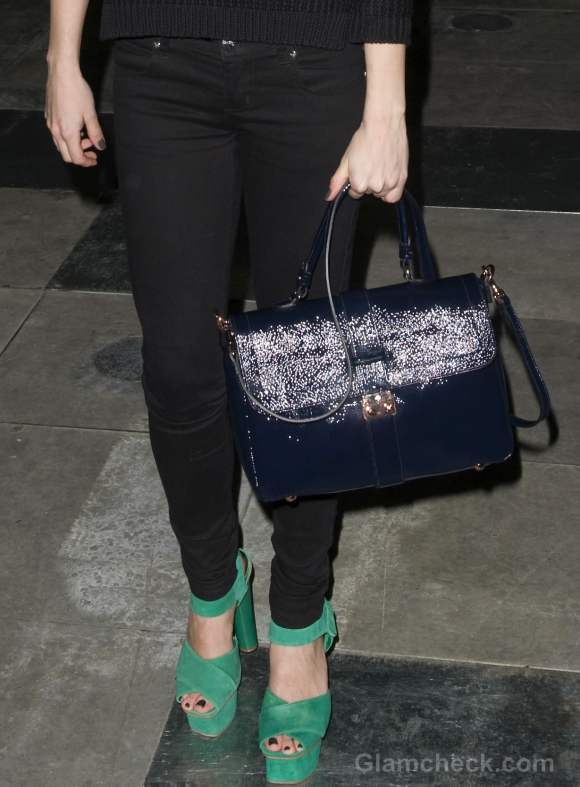Leigh Lezark look fall-winter 2012 london fashion week
