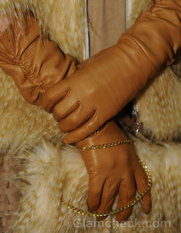 Mid arm length gloves accessories trend fall-winter 2012