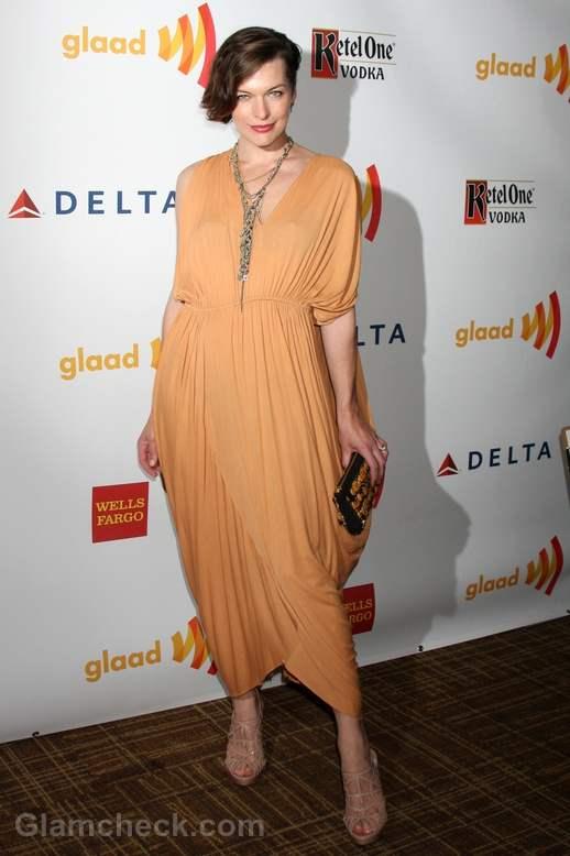 Milla Jovovich GLAAD Media Awards