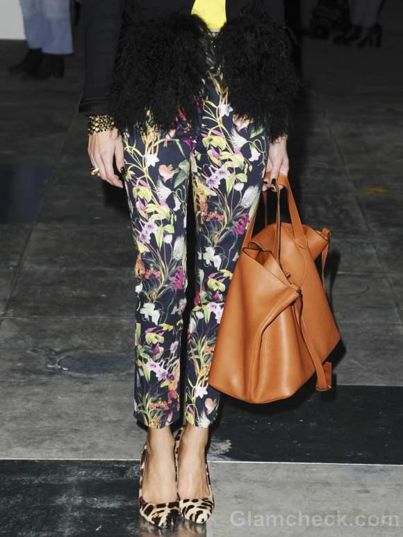 Olivia Palermo atyle at Fall-Winter 2012 London Fashion Week