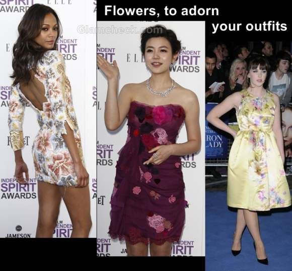 Style inspiration flowers to adorn your outfits