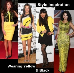 Style Inspiration: Wearing Black and Yellow the Celebs way