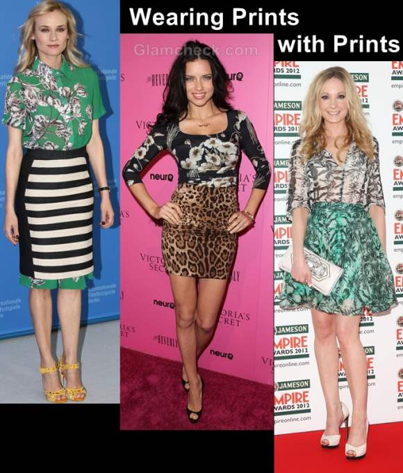 Style inspiration wearing prints with prints