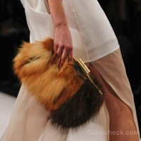 Style pick of the day fur clutch