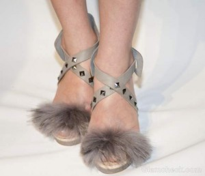 Style Pick of The Day: Fur Detailed Sandals