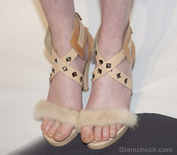 Style pick of the day-fur detailed footwear-sandals