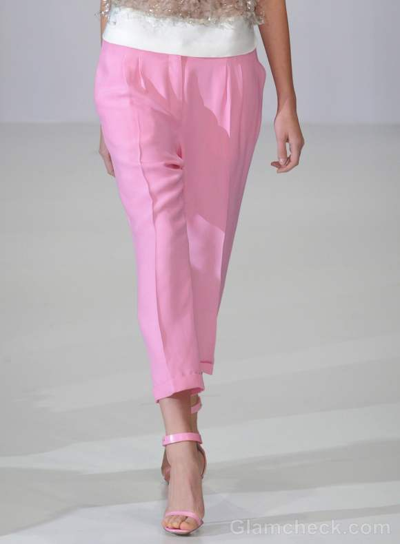 Style pick of the day pastel pink pants