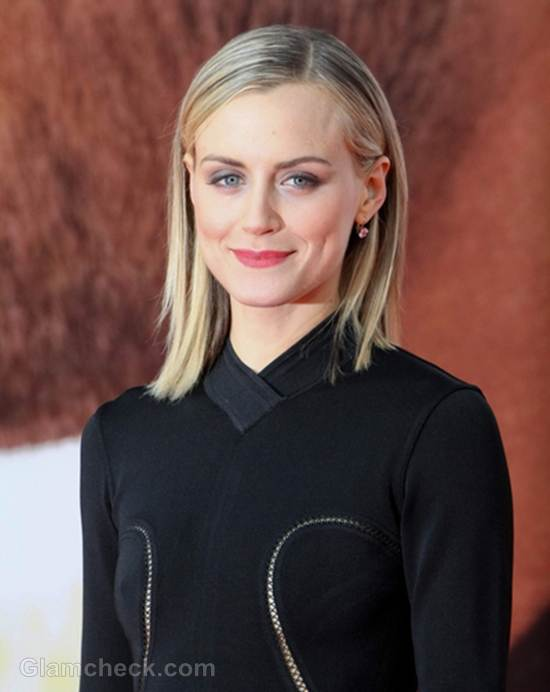 Taylor Schilling Picture Perfect In Little Black Dress