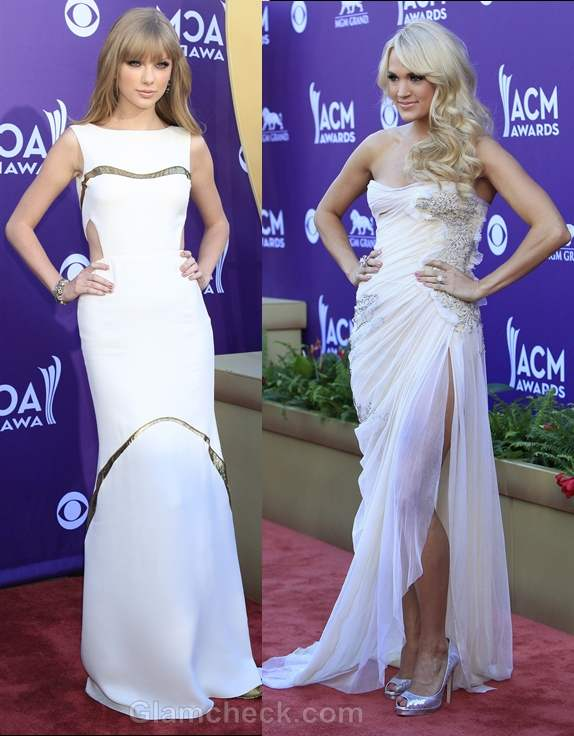 Taylor Swift carry underwood 2012 country music awards