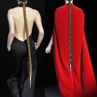 Tegin fall-winter 2012 hairstyle false long braids-2