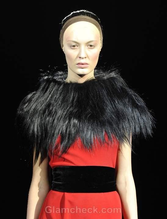 Tegin fall-winter 2012 hairstyle false long braids-4
