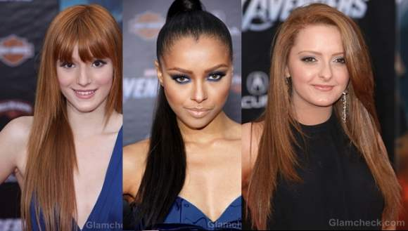 beauty inspiration 3 cool ways to style silky straight hair celeb way