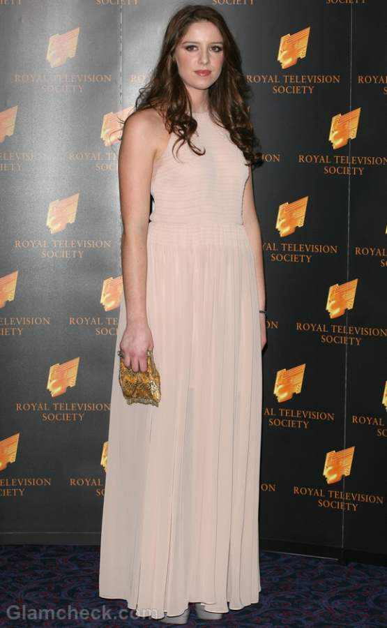 beige-nude gown 2012 Grace Cassidy
