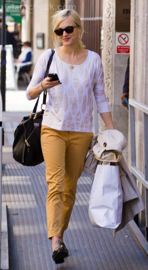 fearne cotton street style cool casual  summer outfit