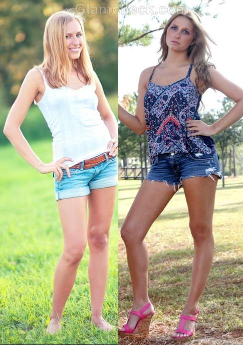 t-shirts to wear with denim shorts-3
