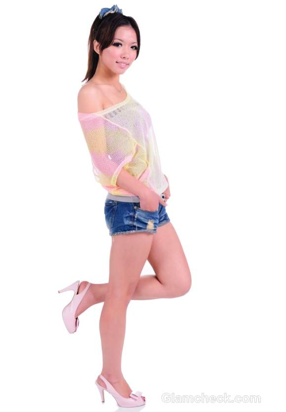 t-shirts to wear with denim shorts-5