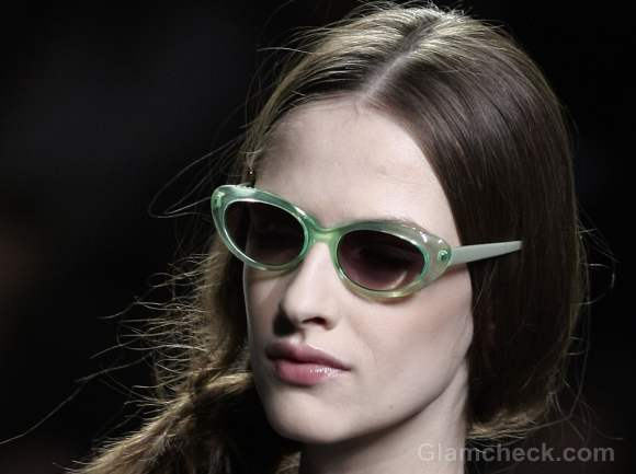 Accessories trend fall-winter 2012 colored frames