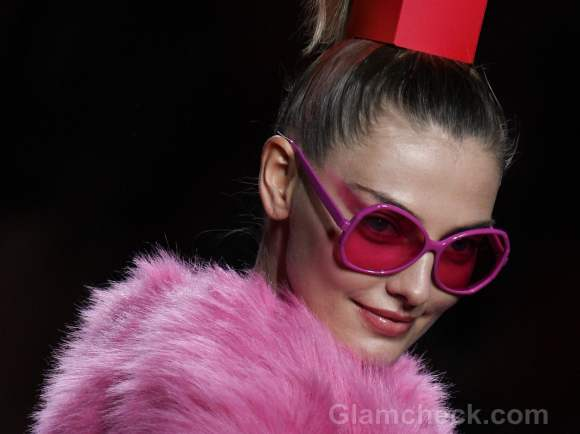 Accessories trend fall-winter 2012 colour blocked frames