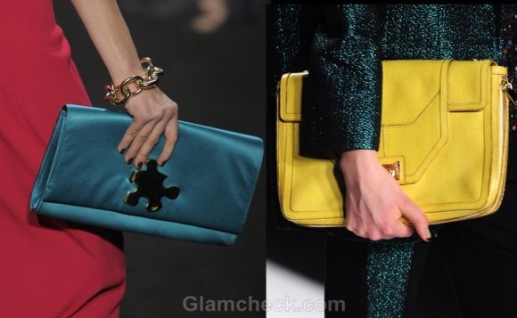 Accessories trend fall winter 2012 envelope clutch bags
