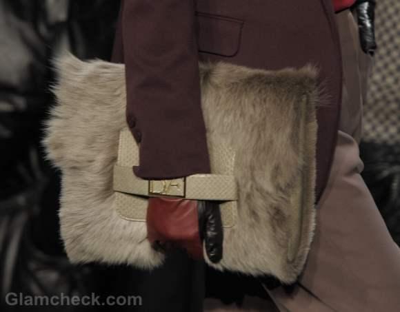Accessories trend fall-winter 2012 fur bags diane von furstenberg