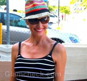 Amra-Faye Wright Takes Walk in Summery Black Outfit