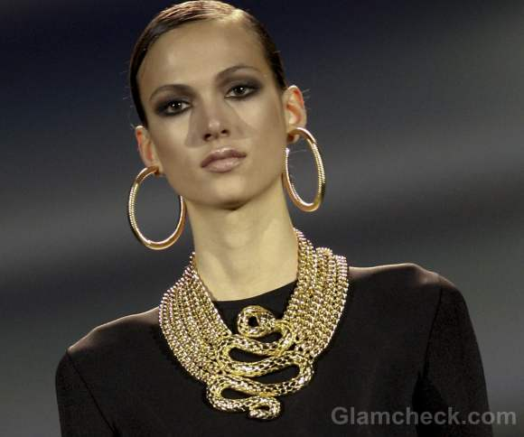 Aristocrazy fall-winter 2012 jewelry gothic inspired by reptiles