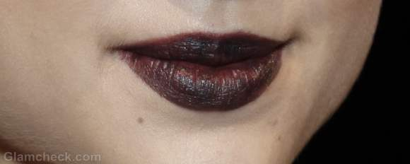 Beauty how to-vampy dark lips fall-winter 2012