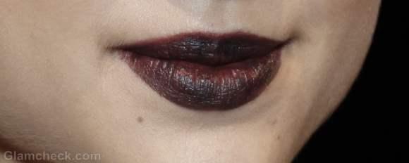 Beauty how to-vampy dark lips fall-winter 2012