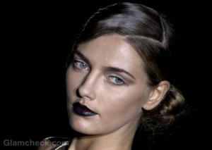 Beauty How To: Get Vampy With Dark Lips Fall/Winter 2012