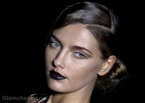 Beauty how to-vampy dark lips haannibal Laguna fall-winter 2012