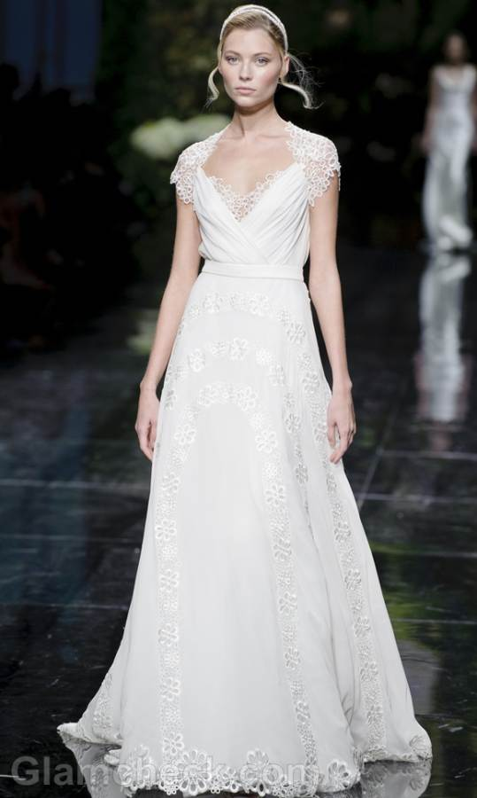 Bridal trends 2013 pronovias catwalk Spring 2013-14