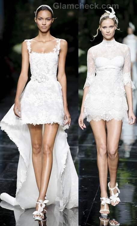Bridal trends 2013 pronovias catwalk Spring 2013 collection