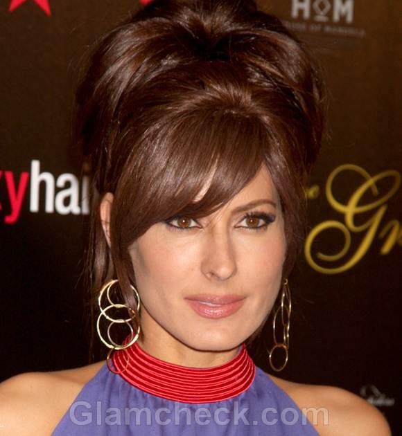 Celeb bun hairstyles annual gracie awards kerri kasem
