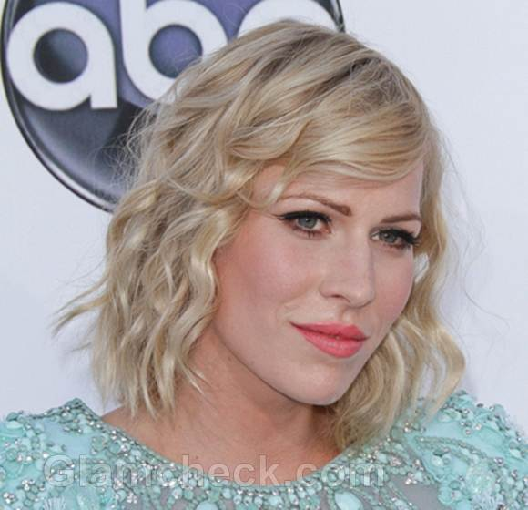 Celebrity curly hairstyles Natasha bedinglield-2012 billboard music awards